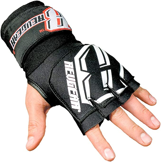BLUE INNER GLOVE WRIST SUPPORTS FOR MMA KICKBOXING SPORTS TRAINING