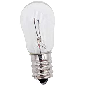 Supplying Demand WR02X12208 Refrigerator 12 Volt 6 Watt Bulb Fits GE