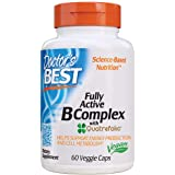 Doctor's Best Fully Active B Complex, Supports Energy, Nervous System, Optimal Health, Positive Mood & Well-Being, Non-GMO, G