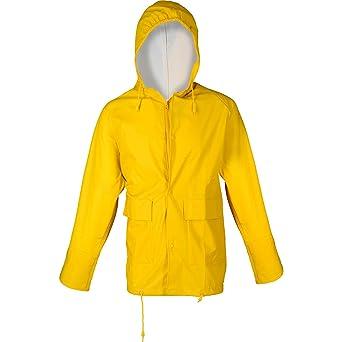 PU-Stretch-Regenjacke Gelb