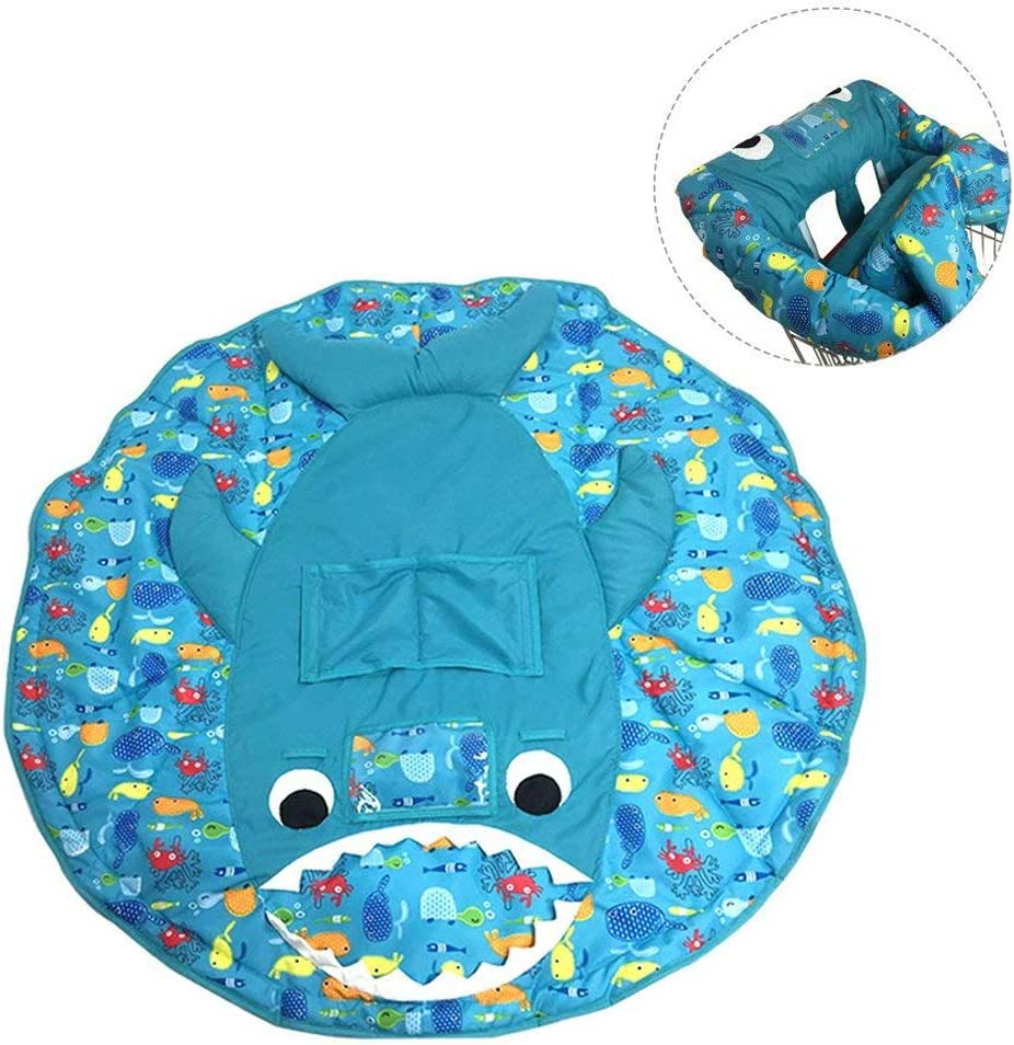 Baby High Chair Cushion,Grocery Shopping Cart Cover,Baby Dining Chair Cover,Play Pad
