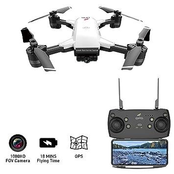 LJXWXN 5G WiFi FPV RC Dron Cuadrirrotor para Adultos 1080P,120º ...