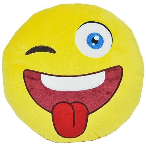 Emoji emta2 Cool Dude Gafas de sol cojín: Amazon.es: Coche y ...