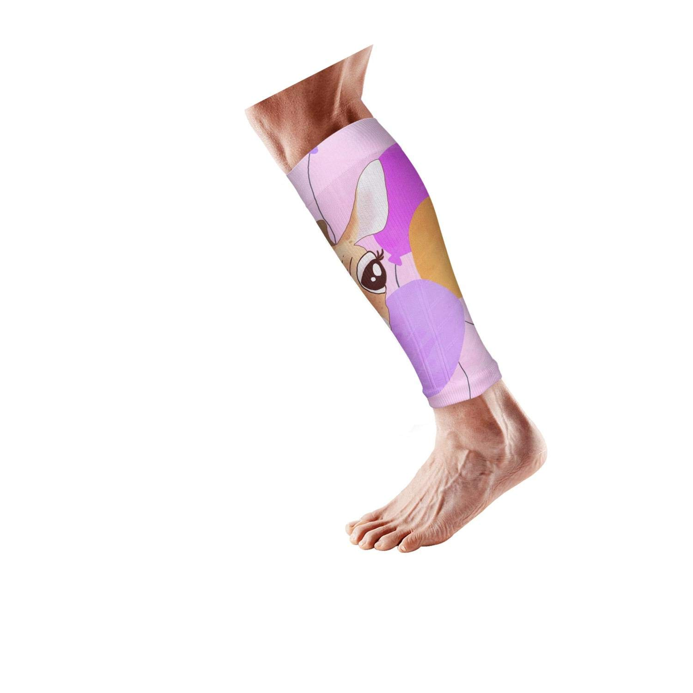 Smilelolly giraffe Calf Compression Sleeves Helps Shin Splint Leg Sleeves for Men Women