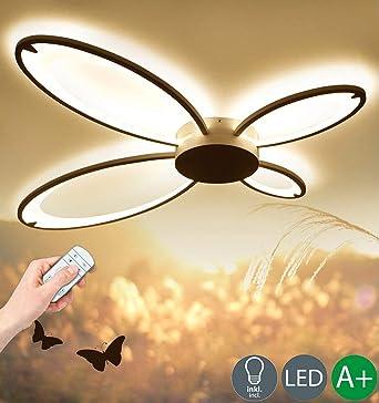 Moderno LED Luz de Techo Regulable Diseño Creativo Lámpara de ...