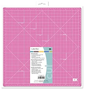 EK Success 13-by-13-Inch Cutter Bee Self-Healing Pink Mat, Old Package