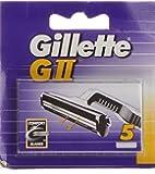 Gillette G-Ii Cargador Recambios Maquinillas - 5 Piezas