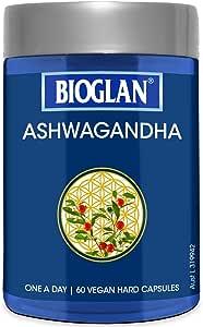 Bioglan BG Ashwagandha 60s, 0.068 Kilograms