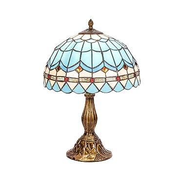 Lámpara De Sobremesa Cálida Y Romántica, De Estilo Tiffany ...