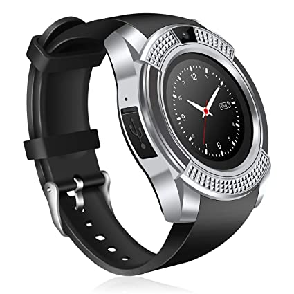 Amazon.com: NOKKOO V8 Smart Band Smart Phone Watch Sports ...