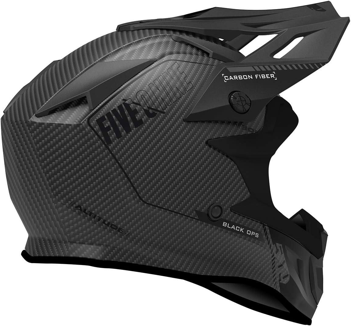 Black Ops Lime - 2X-Large 509 Altitude Carbon Fiber 3K Helmet with Fidlock