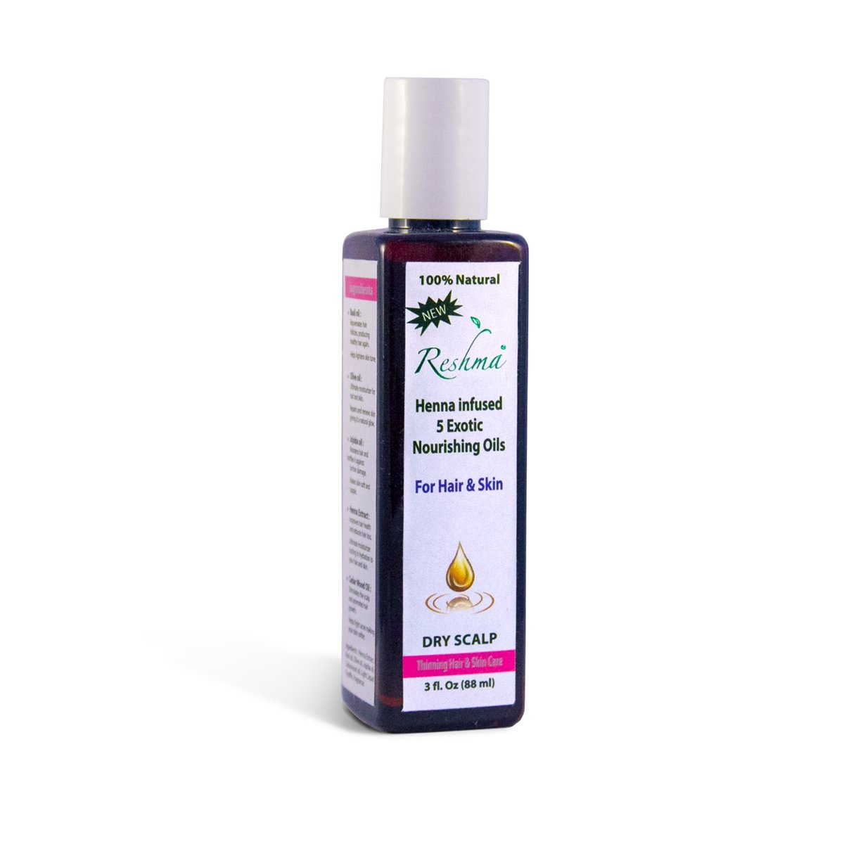 Reshma Beauty Henna Infused Hair Oil For Thinning Hair, Pack Of 1