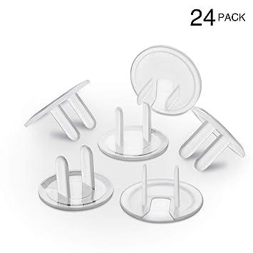 Amazon.com: Tapones para enchufe de seguridad para bebé ...