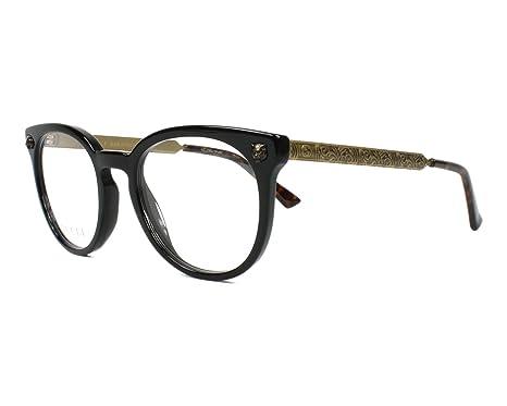Lunettes de vue Gucci GG 0219 O 001  Amazon.fr  Vêtements et accessoires 2b47a675f871