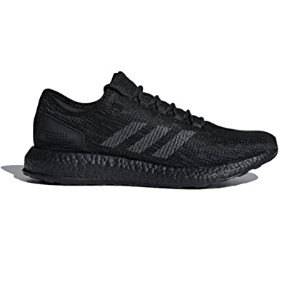 30fd21dd14b26 adidas Pureboost Shoe - Men s Running 6.5 Core Black Dark Grey