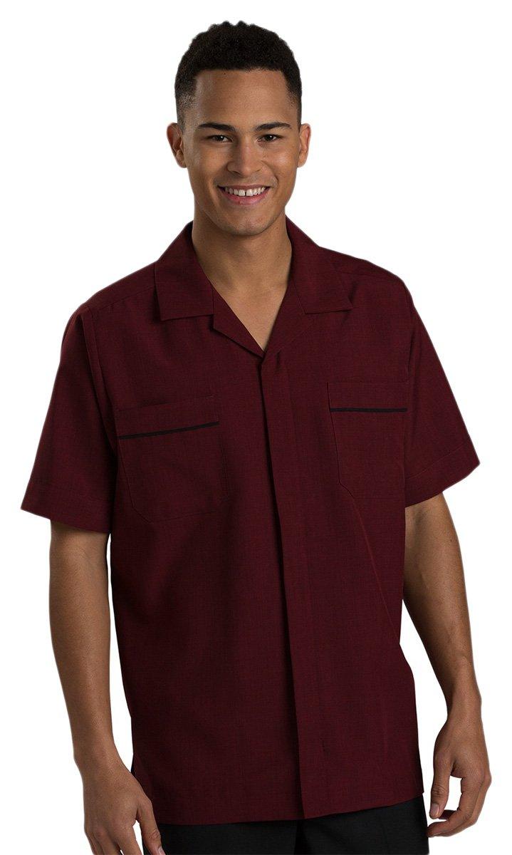 Ed Garments Men'S Housekeeping Service Shirt-Steel Grey-M