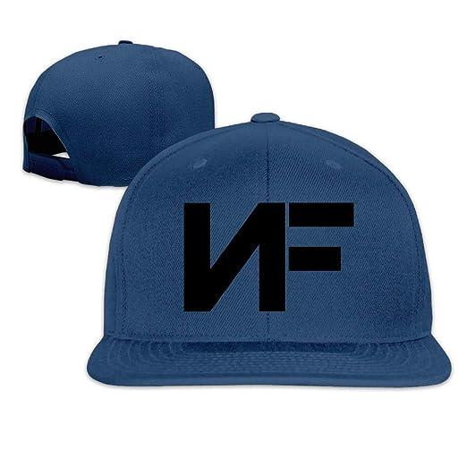 cnaegaa Unisex Adjustable Hat Flat-Brim Baseball Cap Dad Hat ... 193db52c833