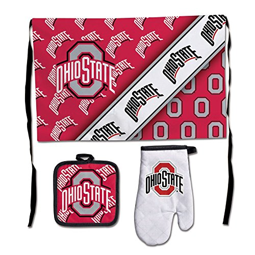 WinCraft NCAA Ohio State University Barbeque Tailgate Set-Premium ()