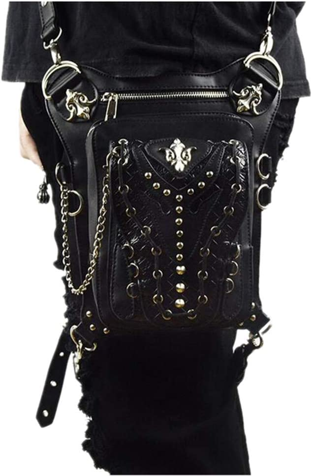 lovezhou moda bolsos Steampunk Retro bolso bandolera de