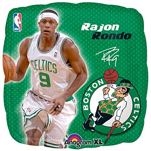 (LuftBalloons 18 NBA Rajon Rondo)
