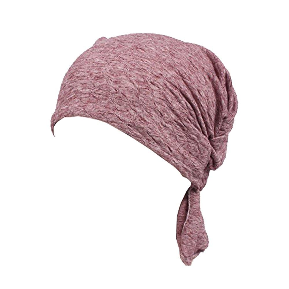 Ever Fairy® Pre Tied Head Scarf Hat Ethnic Print Turban Headwear Women Stretch Flower Muslim Headscarf W54514545