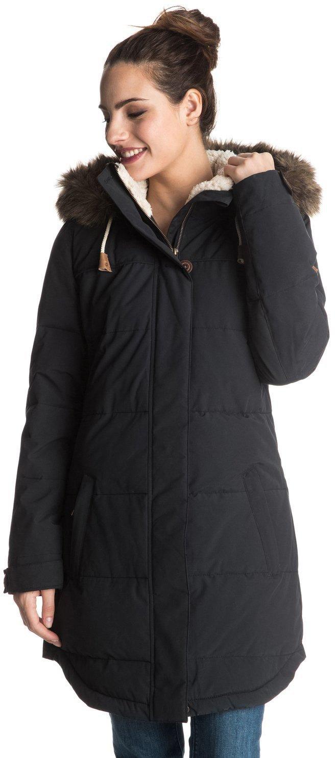 Roxy SNOW Junior's Ellie Insulated Jacket, True Black, L by Roxy