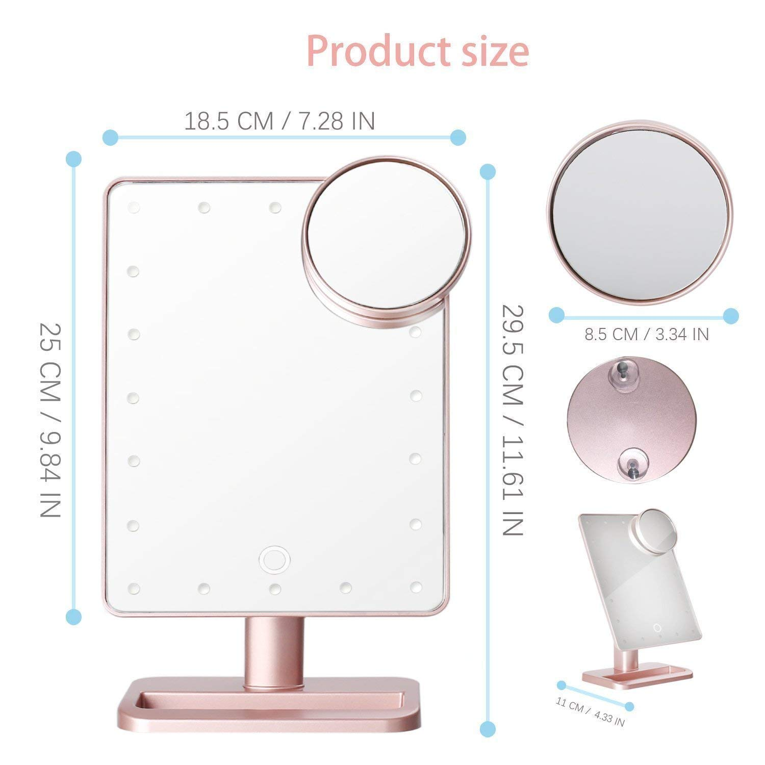 66 Discount On Makeup Vanity Mirror With Bluetooth