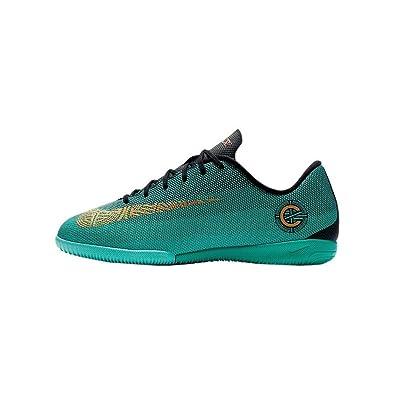 a24dcad9542 NIKE - JR Mercurial Vaporx 12 Academy GS CR7 IC - AJ3099390 - Color   Turquoise