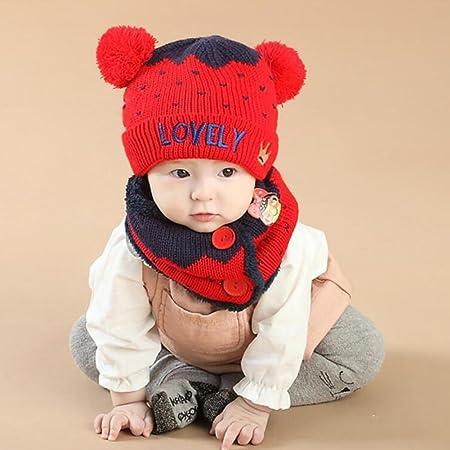 Yinger Winter Niedlich Baby Stricken Wolle Häkeln Kleinkind Kinder