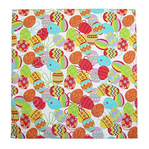 CTM Easter Egg Print Bandana, (Easter Bandana)