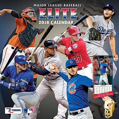 Major League Baseball Elite 2018 Calendar