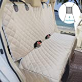 Bark Lover Deluxe Dog Seat Cover for Back Seat-More Durable Waterproof Backseat Protector, High Heat Resistant and…