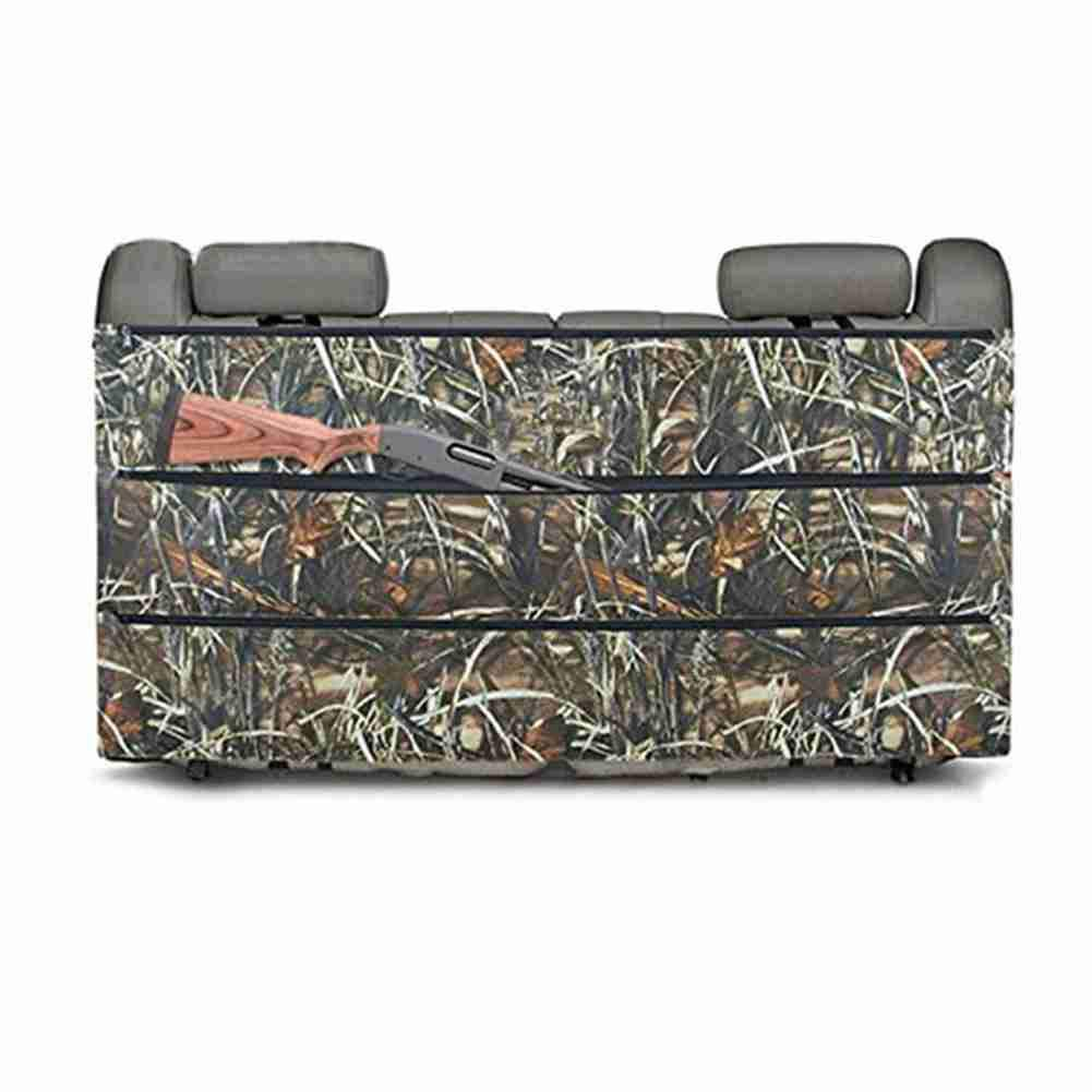 Hunting Sling Bags Black Camo Rifle Gun Rack case Organizer for Most SUV Trucks car Back Seat Vehicle Gun Storage by SUNRIS