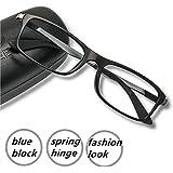 Computer Glasses - Blue Light Filter - Spring Hinge