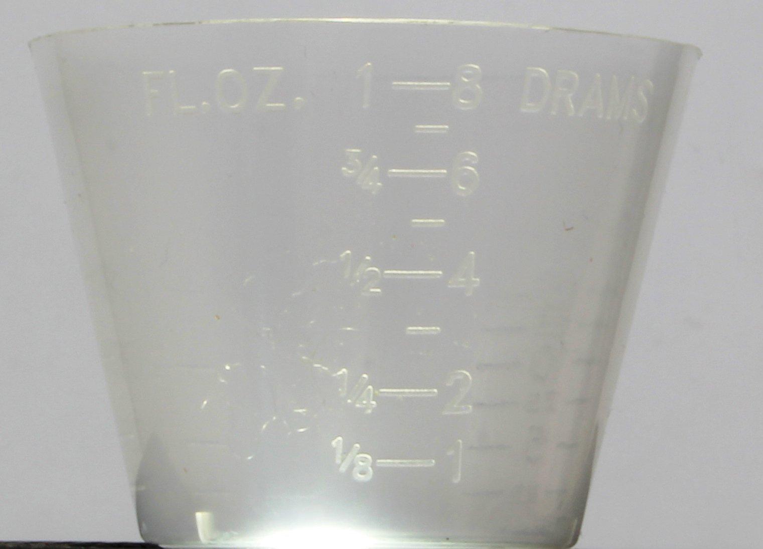 Case of 5000 NovaPlus Disposable Medicine Cups 1 oz (8 drams) / 30cc
