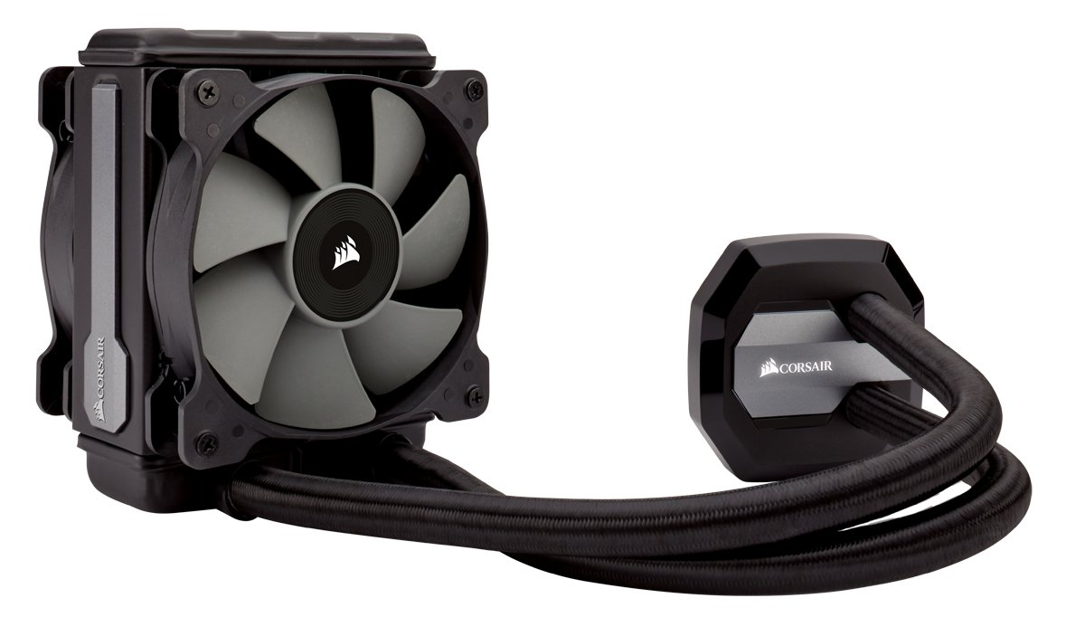 CORSAIR HYDRO SERIES H80i v2 AIO Liquid CPU Cooler, 120mm Thick Radiator, Dual 120mm SP Series PWM Fans, Advanced RGB Lighting and Fan Software Control