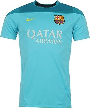 10552579140 2013-14 Barcelona Nike Training Jersey (Aqua)  Amazon.co.uk  Sports    Outdoors