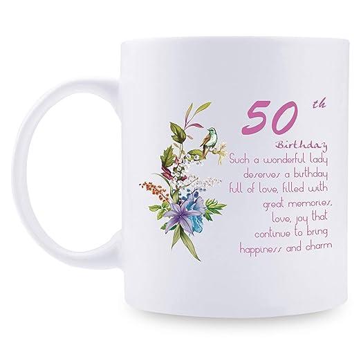 Regalo de 50 cumpleaños para Mujer - 1969 cumpleaños Regalos ...