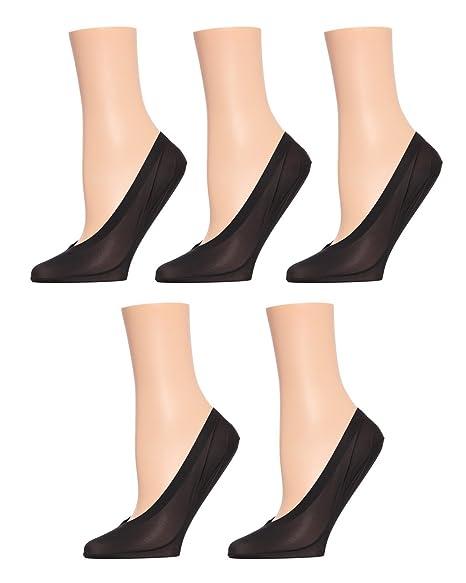 baf1edebf0 MeMoi Cotton Fine Edge Shoe Liner 5-Pak