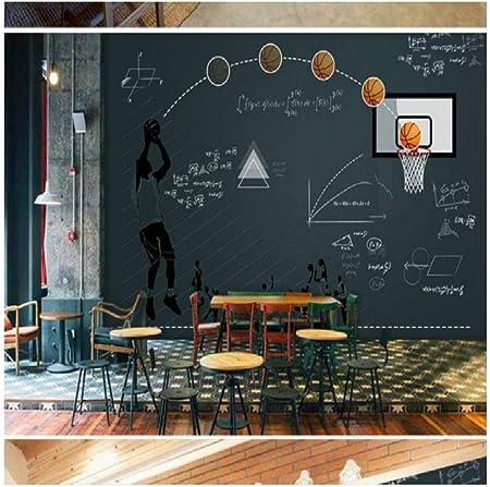Basketball Tableau Noir Fonction Restaurant Bar Grande