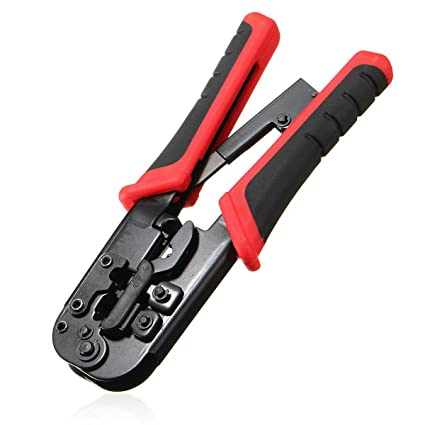 nuzamas Red LAN Cable Crimp Tool Conector Red crimpadora alicates cable de red RJ45 – 8P8