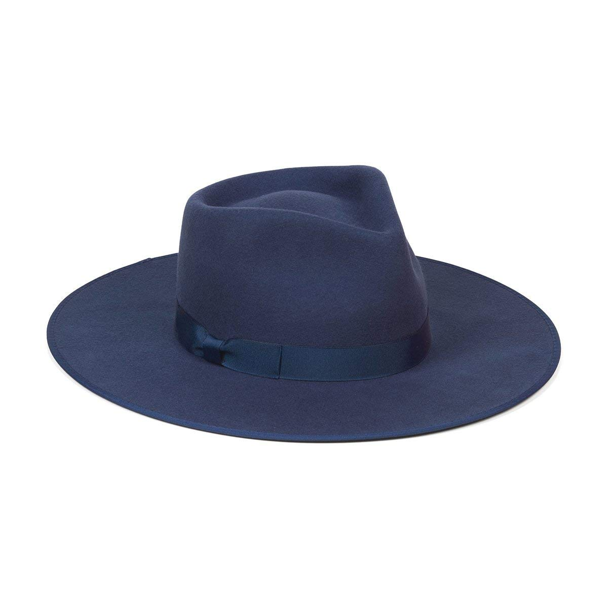 Lack of Color Women's Navy Rancher Wool Fedora Hat (Navy, Small (55 cm)) by Lack of Color