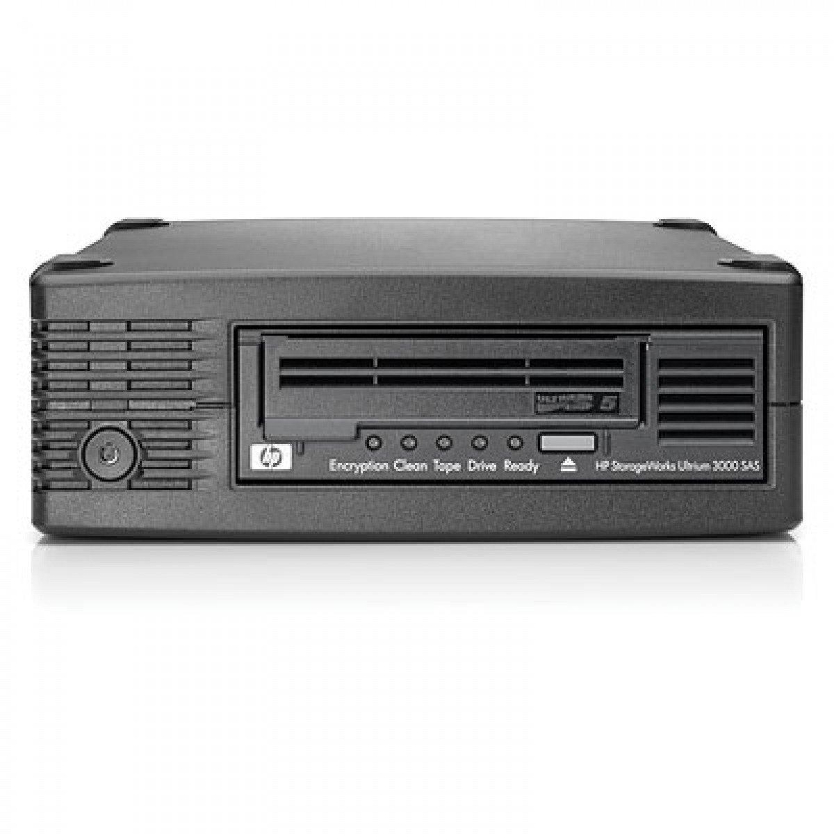 HP StoreEver LTO-5 Ultrium 3000 SAS - Unidad de cinta (LTO, 2 Negro EH958B