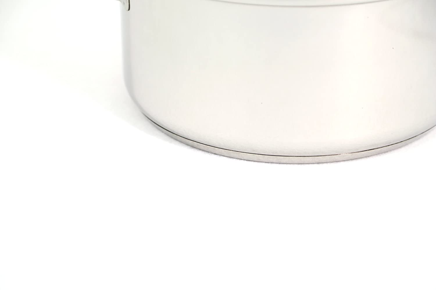 Excelsteel 16 Quart Stainless Steel Stockpot With Encapsulated Base