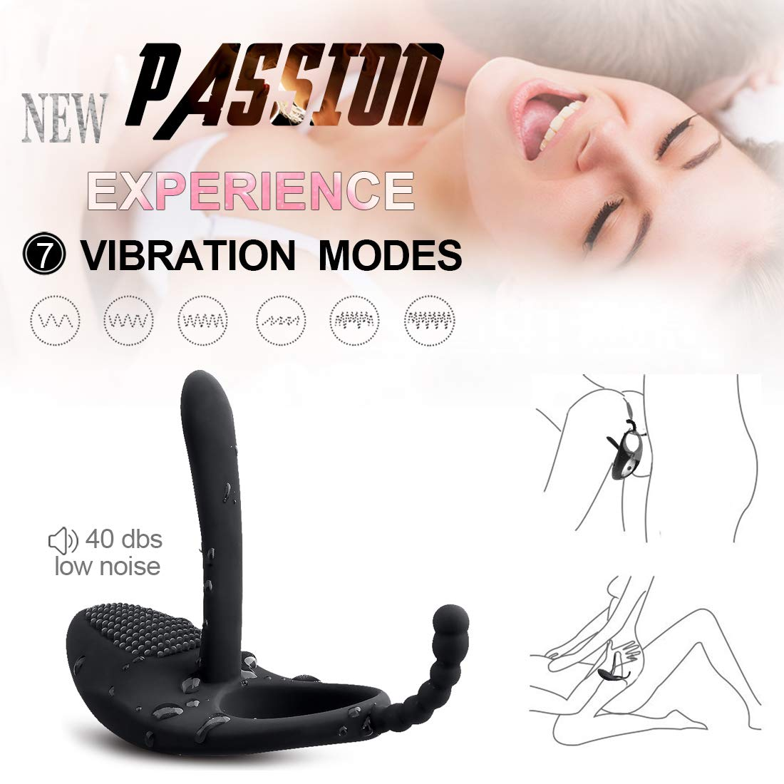 Lifelike Vibrators for male Adults Toy for men Waterproof Vibrator G Spotter Silicone Cock Six Toy for Couples T-Shirt
