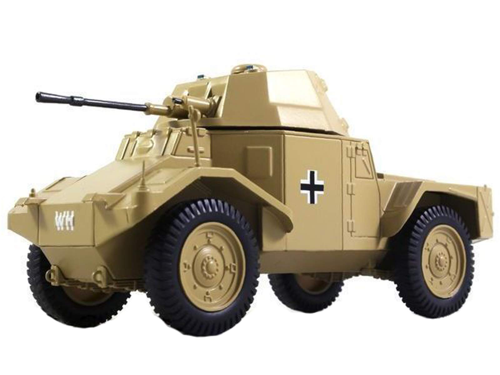 Pz. Spahwagen P204 1944 Year French Armoured Car 1/43 Collectible Model Vehicle All-Wheel-Drive Car by French Motor Vehicle Manufacturer Panhard