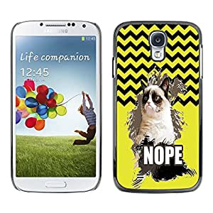 Dragon Case - FOR Samsung Galaxy S4 - Things change quickly - Caja protectora de pl??stico duro de la cubierta Dise?¡Ào Slim Fit