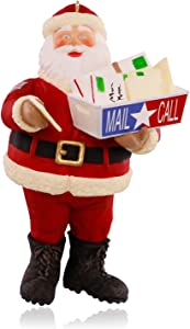 Hallmark Keepsake Ornament: Santa's Military Mail Call