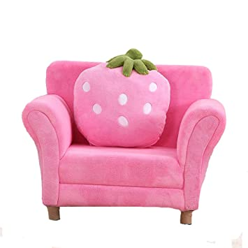 Xuanbao Kinder Couch Armlehne Stuhl Gepolstert Wohnzimmer Möbel