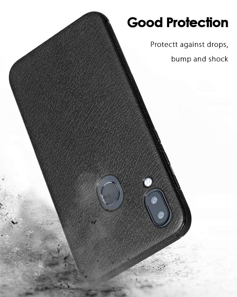 UMIDIGI Mobile A3 Case, TopACE [Shock Absorption] Flexible TPU Soft Skin Silicone Cover Compatible for UMIDIGI Mobile A3 (Black)